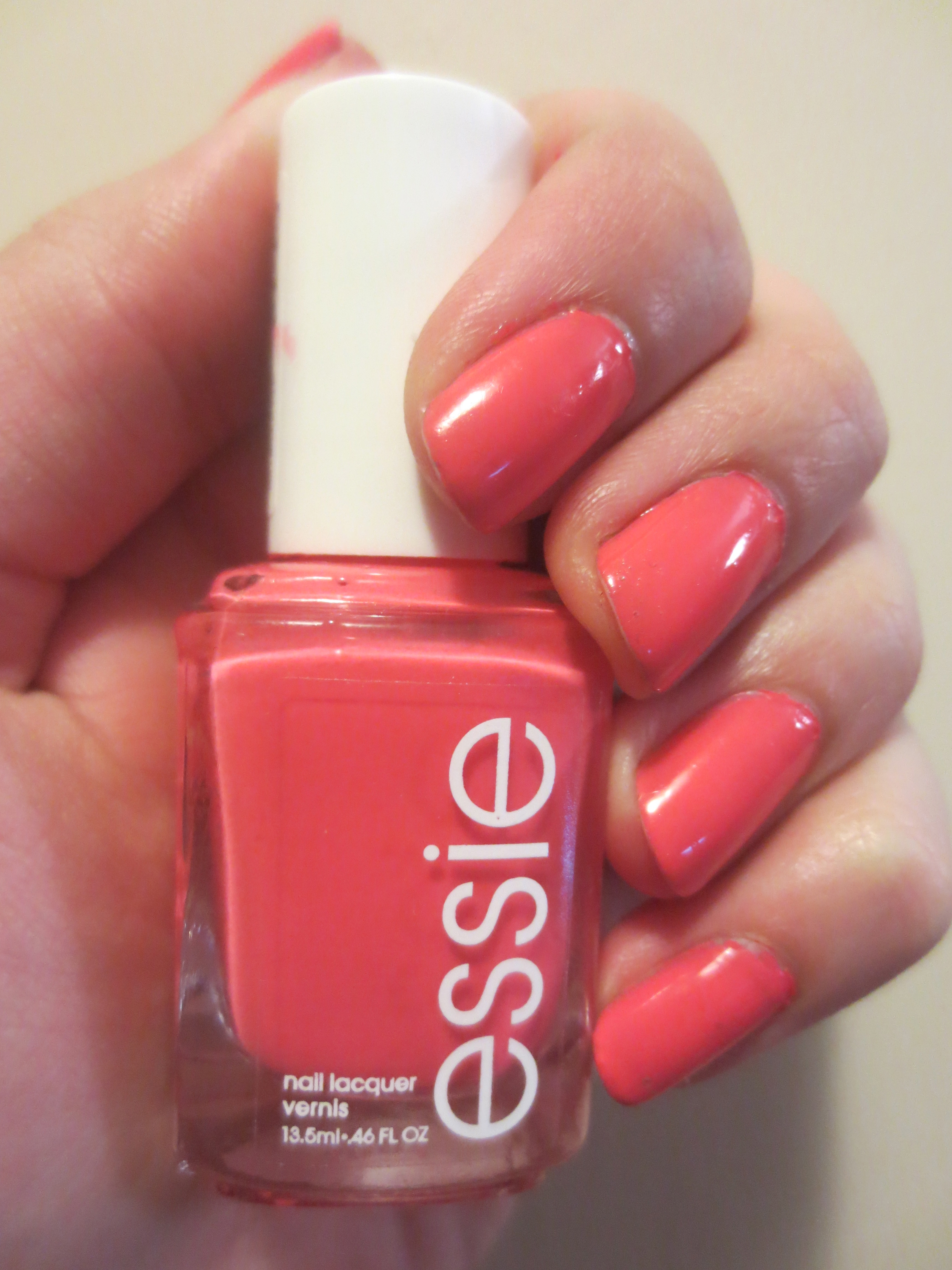 Nail Polish of the Week #1 – Essie\'s Cute as a Button | Beauty and Books
